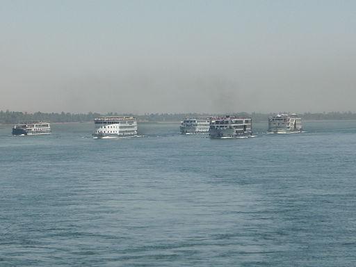 Cruise ships Nile