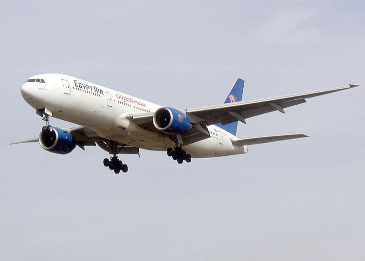 エジプト航空ボーイング777