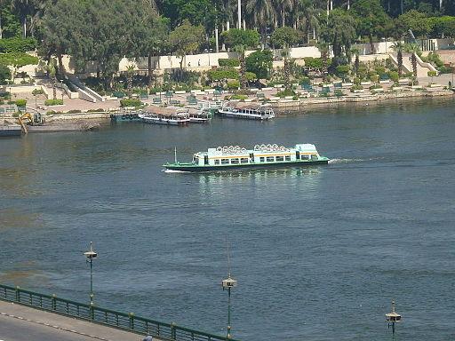 カイロの水上バス